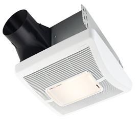 BROAN A70L 70CFM FAN-LIGHT- 2.0 SONE, 1 YR WARRANTY-