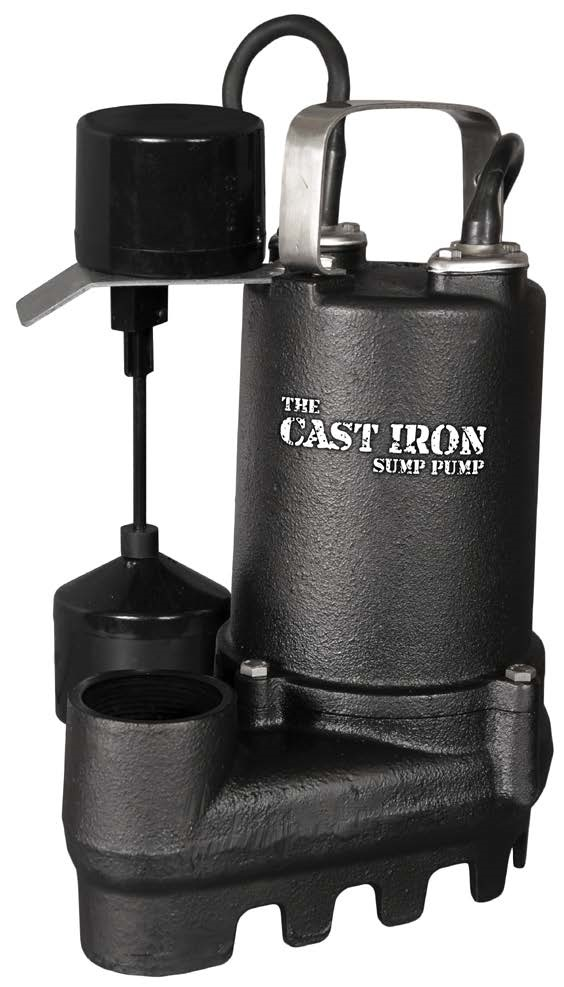 """THE CAST IRON SUMP PUMP""-