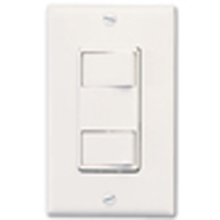 DOUBLE SWITCH F/BATH FANS -P68W BROAN-  508152- WHITE