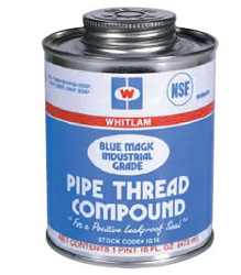 Thread Sealants, Tape, Cutting Oil