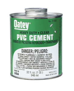 Pvc/Cpvc Cements, Cleaners, Lube
