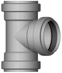SDR-35 Gasket Sewer Pipe & Fittings