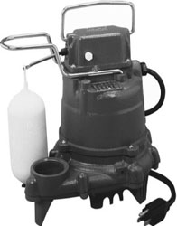 SUMP PUMP-M53-AUTO-CAST IRON