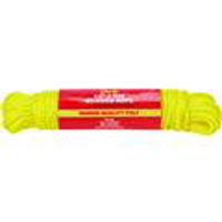 1/4X100' YELLOW POLY ROPE